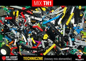 MIX TH1 = 0,15kg LEGO TECHNIC mix ~200szt