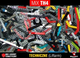 MIX TH4 = 0,15kg LEGO TECHNIC liftarm