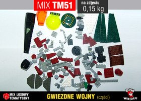 MIX TM51 = 0,15kg LEGO STAR WARS mix części