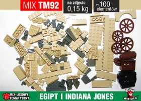 MIX TM92 = 0,15kg LEGO EGIPT INDIANA