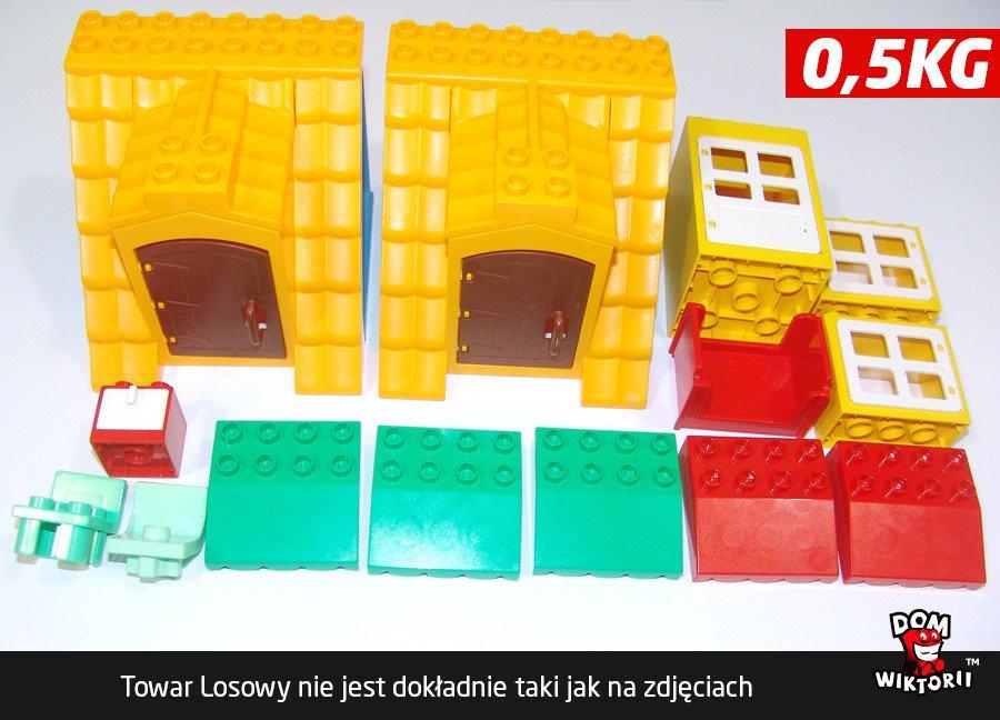 Duplo Lego Kraków Domki 10 40 Sztuk 05kg System Mixów Losowych